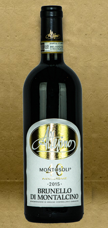 Altesino Montosoli Brunello di Montalcino DOCG 2015 Red Wine