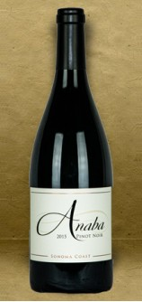 Anaba Sonoma Coast Pinot Noir 2015 Red Wine
