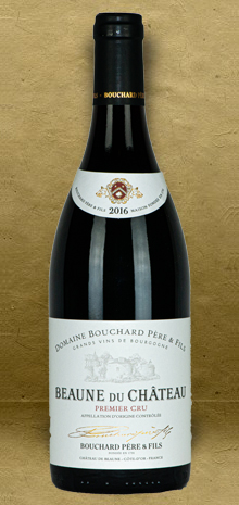 Bouchard Pere & Fils Beaune du Chateau Premier Cru Red Burgundy 2016 Red Wine