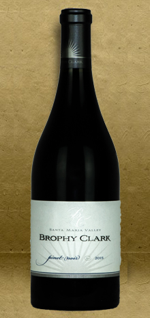 Brophy Clark Santa Maria Valley Pinot Noir 2015 Red Wine