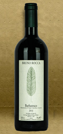 Bruno Rocca Barbaresco DOCG 2016 Red Wine