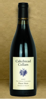 Cakebread Cellars Two Creeks Anderson Valley Pinot Noir 2017 Red Wine