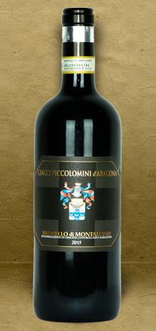 Ciacci Piccolomini d'Aragona Brunello di Montalcino DOCG 2015 Red Wine