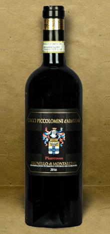 Ciacci Piccolomini d Aragona Pianrosso Brunello di Montalcino DOCG 2016 Red Wine
