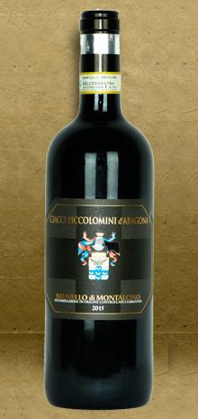Ciacci Piccolomini d'Aragona Pianrosso Brunello di Montalcino DOCG 2015 Red Wine