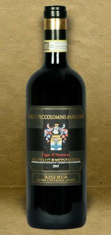 Ciacci Piccolomini d Aragona Vigna di Pianrosso Riserva Brunello di Montalcino DOCG 2015 Red Wine