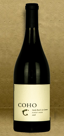 Coho Stanly Ranch Pinot Noir 2016 Red Wine