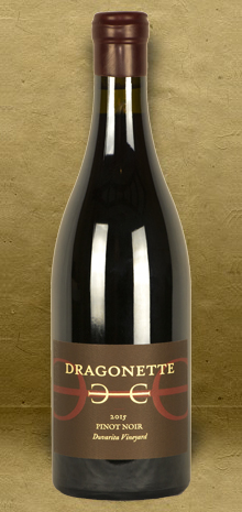 Dragonette Cellars Duvarita Vineyard Pinot Noir 2015 Red Wine