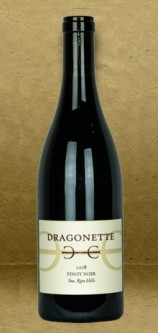 Dragonette Cellars Sta. Rita Hills Pinot Noir 2018 Red Wine