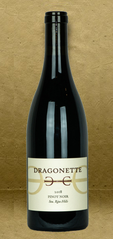 Dragonette Cellars Sta. Rita Hills Pinot Noir 2018 Red Wine