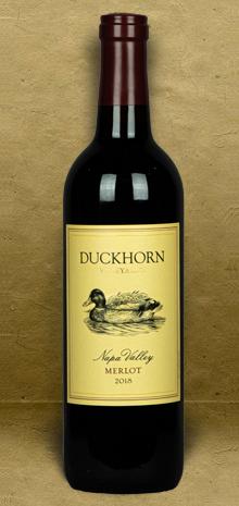 Duckhorn Vineyards Napa Valley Merlot 2018 Red Wine