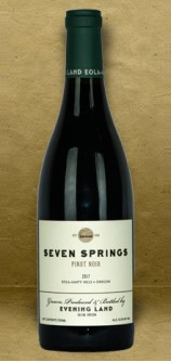 Evening Land Seven Springs Pinot Noir 2017 Red Wine