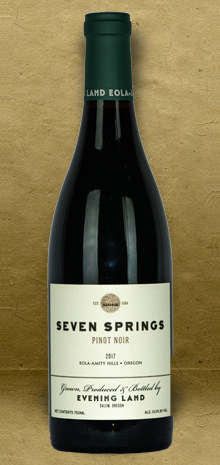 Evening Land Seven Springs Pinot Noir 2018 Red Wine