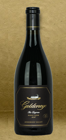 Goldeneye Ten Degrees Pinot Noir 2016 Red Wine