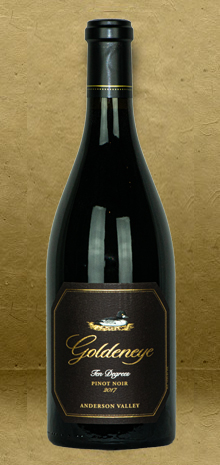 Goldeneye Ten Degrees Pinot Noir 2017 Red Wine