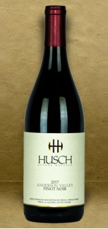 Husch Vineyards Anderson Valley Pinot Noir 2017 Red Wine