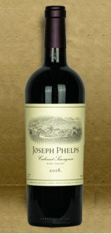 Joseph Phelps Napa Valley Cabernet Sauvignon 2018 Red Wine