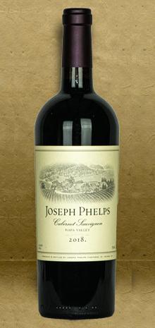 Joseph Phelps Napa Valley Cabernet Sauvignon 2018 Red Wine