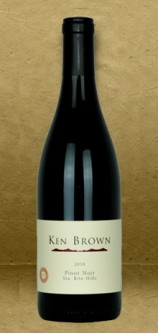 Ken Brown Sta. Rita Hills Pinot Noir 2018 Red Wine