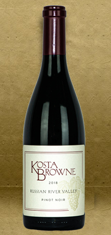 Kosta Browne Russian River Valley Pinot Noir 2018 Red Wine