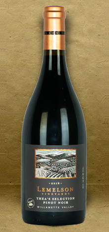 Lemelson Vineyards Thea's Selection Pinot Noir 2016 Red Wine