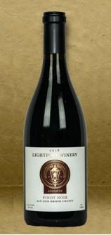 Lightpost Winery San Luis Obispo County Pinot Noir 2018 Red Wine