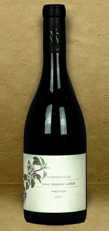 Long Meadow Ranch Anderson Valley Pinot Noir 2017 Red Wine