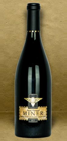 Miner Winery Garys' Vineyard Santa Lucia Highlands Pinot Noir 2017 Red Wine