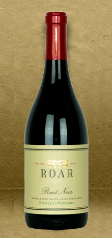 Roar Wines Rosella's Vineyard Pinot Noir 2018 Red Wine