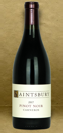 Saintsbury Carneros Pinot Noir 2017 Red Wine