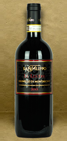 San Filippo Le Lucere Brunello di Montalcino DOCG 2015 Red Wine