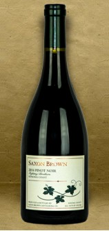 Saxon Brown Fighting Brothers Sonoma Coast Pinot Noir 2014 Red Wine