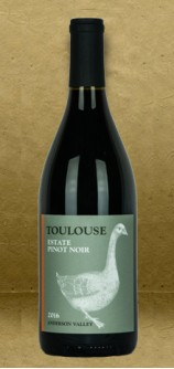 Toulouse Vineyards Estate Pinot Noir 2016 Red Wine