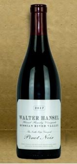 Walter Hansel South Slope Vineyard Pinot Noir 2017 Red Wine