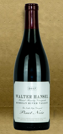 Walter Hansel South Slope Vineyard Pinot Noir 2017 Red Wine