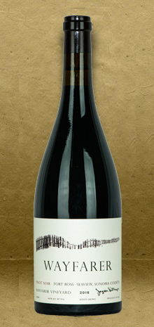 Wayfarer Fort Ross - Seaview Wayfarer Vineyard Pinot Noir 2016 Red Wine