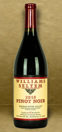 Williams Selyem Russian River Valley Pinot Noir 2018 Red Wine
