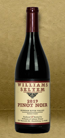 Williams Selyem Russian River Valley Pinot Noir 2019 Red Wine