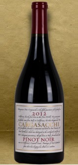 "Cargasacchi ""Cargasacchi Vineyard"" Pinot Noir 2012 Red Wine"