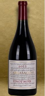 """Cargasacchi """"Cargasacchi Vineyard"""" Pinot Noir 2012 Red Wine"""