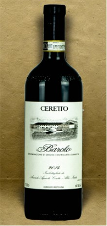 Ceretto Barolo DOCG 2014 Red Wine