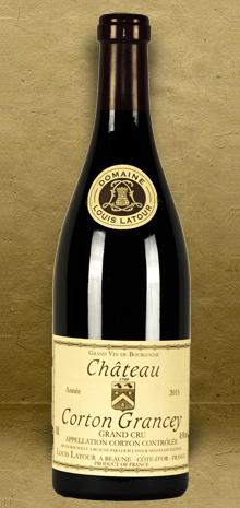 Louis Latour Chateau Corton Grancey Grand Cru Burgundy 2015 Red Wine