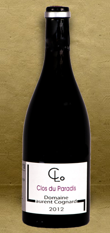 Domaine Laurent Cognard Mercurey Clos du Paradis 2012 Burgundy Red Wine