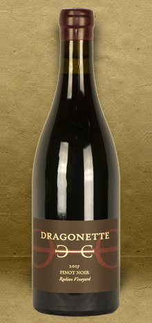 Dragonette Cellars Radian Vineyard Pinot Noir 2015 Red Wine