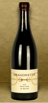 Dragonette Cellars Sta. Rita Hills Pinot Noir 2015 Red Wine
