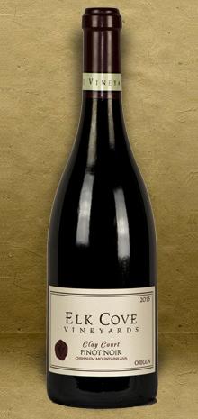 Elk Cove Vineyards Clay Court Pinot Noir 2015 Red Wine