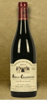 Philippe Livera Domaine des Tilleuls Gevrey-Chambertin Les Evocelles Burgundy 2014 Red Wine