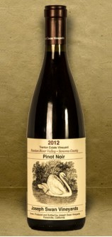 Joseph Swan Trenton Estate Pinot Noir 2012 Red Wine