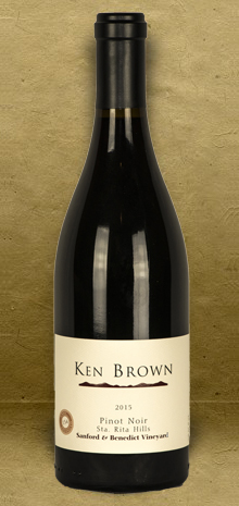 Ken Brown Sanford and Benedict Pinot Noir 2015 Red Wine
