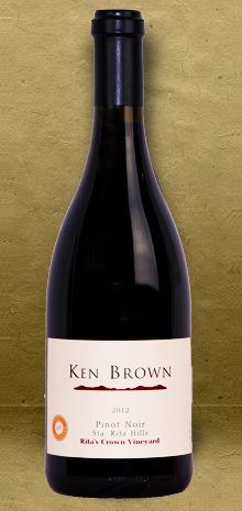 Ken Brown Rita's Crown Pinot Noir 2012 Red Wine
